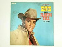 "Elvis Singing Flaming Star and Others Vinyl 12"" Record LP PRS-279 RCA 1968"
