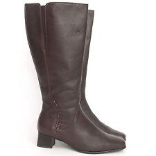 Gabor kniehohe Damen-Stiefel aus Echtleder mit mittlerem Absatz (3-5 cm)