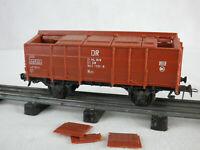 Klappdeckelwagen Schüttgut Güterwagen H0 unvollständig DR Piko mei15