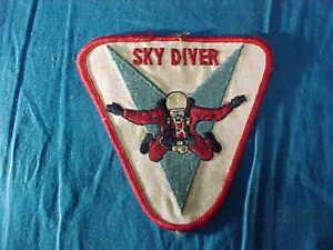 Vintage SKY DIVER Uniform SLEEVE PATCH