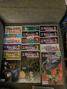 Boom! Comics Bravest Warriors HUGE 36 Issue Comic Book Lot New Pendleton Ward NM