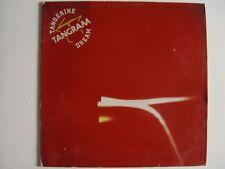 """TANGERINE DREAM TANGRAM  12"""" Vinyl LP VG+ HEAVY METALL VIRGIN V 2147"""
