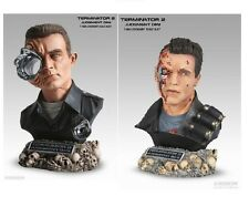 TERMINATOR 2 T-800 T-1000 Legendary scale bust Sideshow 3 Schwarzenegger statue