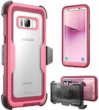 i-Blason Galaxy S8 Case Armorbox No Screen Protector Holster Belt Clip 2017
