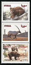 Syrien Syria 2015 Tiere Animals Antilope Wildkatze Bären Postfrisch MNH