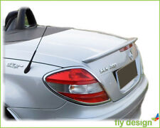 Mercedes SLK AMG type Tuning R171 Spoiler Lip BRILLANT Silver 744 rear tail flap