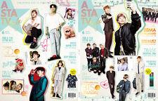 ASTA TV+ STYLE KOREA Megazine 2017 June BTS  TWICE G-dragon LeeMinho_NEW