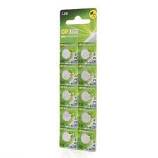 10 pcs GP LR44 AG13 A76 Alkaline Batteries Button Coin Battery EXP:2019