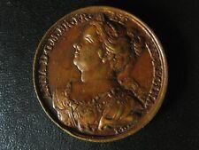 Queen Anne Jean Dassier medal 1730s 38.3mm 29.68g England