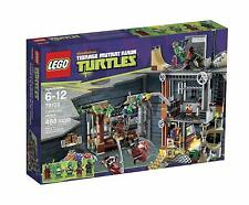 LEGO TMNT Ninja Turtles Turtle Lair Attack 79103 NEW in Box