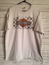 Harley Davidson Authentic Light Gray 2XL T-Shirt Iron Nation Edmond, OK