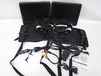 "Insignia 9"" dual screen portable DVD player NS-D9PDVD15 (40779)"