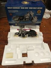 Franklin Mint Harley Davidson Road King Road Rally Limited Edition! W box Tags