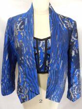 Manteaux et vestes blazers bleus pour femme