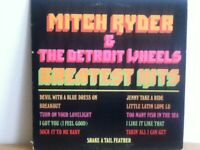 MITCH  RYDER & DETROIT  WHEELS   LP   GREATEST   HITS