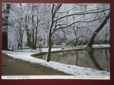 POSTCARD OXFORDSHIRE WINTER BY CHERWELL