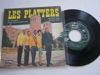 EP 4 TITRES VINYLE 45 T , THE PLATTERS , MY SERENADE  . VG - / EX . MERCURY