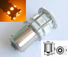 2x 6V DC Lampe LED Blinker Turn Gelb Amber 1156 BA15S 12 SMD Deutsche Post