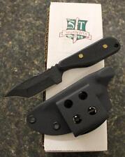 Shadow Tech STTDBPBT Talon D Modified Tanto Fixed Blade Knife Textured Black G10