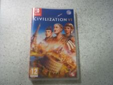 SID MEIERS CIVILIZATION V1 (6) EMPTY  Nintendo Switch Game Case.REPRO INLAYS.
