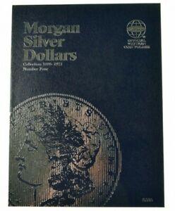 Whitman Coin Folder Morgan Silver Dollars 4, 1898 - 1921 (Albums, books)