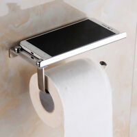 304 Stainless Steel Bathroom Toilet Paper Twin Holder Phone Tissue Roll