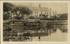 Cape Porpoise Me The Garrison House Real Photo Postcard #2