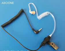 Ohrhörer Schallschlauch mit Klinkenstecker 3,5mm für Motorola, Kennwood uvm.