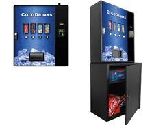 Cashless Cooler Vending Machine - brand new, compact vending machine