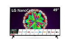 """SMART TV LG NANOCELL 49"""" 4K  UHD LED 49NANO803NA DVBT2/S2 Televisore Nero HDMI"""