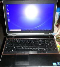 """Dell Latitude E6520 15.6"""" Laptop i5-2430M 2.4GHz 8GB 250GB SSD DVDRW 10 Pro"""