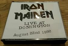 Iron Maiden Live At Donington 1992 CD Fatbox 1st Press EMI Orig Master Nr Mint