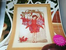 CROSS STITCH CHARTS FUCHSIA FAIRY CHART  ONLY OLDER CHART  FROM 1997