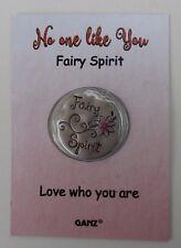 o No one like you fairy spirit love who you are WILD HEART POCKET TOKEN CHARM