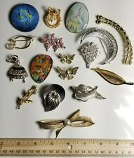 Rare DISCOVERY NOS Vintage PIN LOT &  Mixed STYLES JEWELRY PINS Butterfly Dancer
