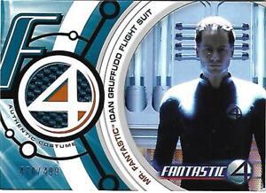 Fantastic 4 Costume Card FF004 Mr. Fantastic Ioan Gruffudd Blue Flight Suit #499