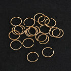 2x Thin Surgical Steel Silver/Rose Gold Nose Ear Lip Piercing Hoop Ring 6/8/10mm