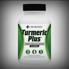 Pure Potent Turmeric Curcumin w Bioperine Antioxidant Joints Brain Weight 120ct