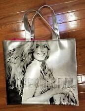 Victoria's Secret Supermodel Bag Heidi Klum Limited Edition Silver Tote Bag