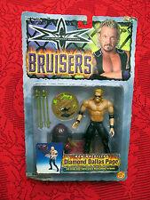 RARE WCW WRESTLING 1999 TOY BIZ  BRUISERS DIAMOND DALLAS PAGE ACTION FIGURE MIB