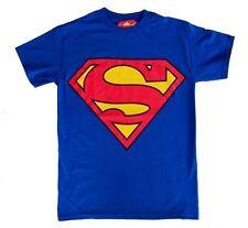 AUTHENTIC SUPERMAN MAN OF STEEL CLASSIC LOGO DC COMICS MOVIE T TEE SHIRT S-3XL