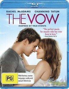 The Vow (Blu-ray, 2012)*Channing Tatum*Terrific Condition*
