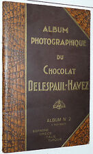 RARE ALBUM PHOTOS CHOCOLAT DELESPAUL-HAVEZ 1934 TURQUIE TÜRKIYE ITALIE GRECE