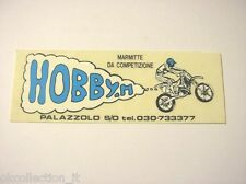VECCHIO ADESIVO MOTO / Old Sticker Motorcycle MOTOCROSS MARMITTE (cm 10 x 3,5)