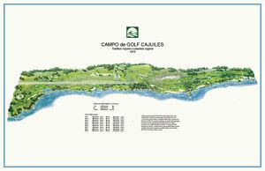 Casa de Campo Cajuiles 1970-Pete Dye- Vintage Golf Course Map
