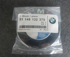 BMW Emblem Logo 82mm Frontklappe Motorhaube Haube 51148132375 51 148 132 375 Neu