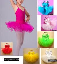Vestito Tutù Saggio Danza Bambina Girl Ballet Tutu Dress DANC006