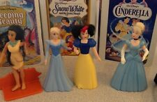 WALT DISNEY - SET OF 4 DISNEY PRINCESS FIGURINES-HAPPY MEAL COLLECTABLES