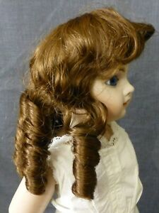 "11""  / 28cm  MB RINGLET WIG FOR ANTIQUE DOLL, VINTAGE WIG, DOLL HAIR"