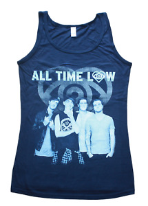 All Time Low - American Rock Band - Ladies slim fit size S & M vest tops